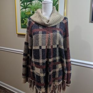 New Directions Sweater Poncho